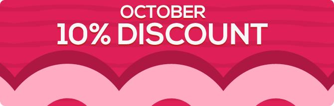 InterRose.co.uk 10% Off October