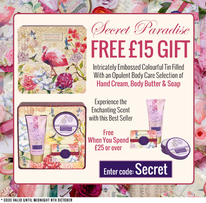 Free £15 Gift with code SECRET