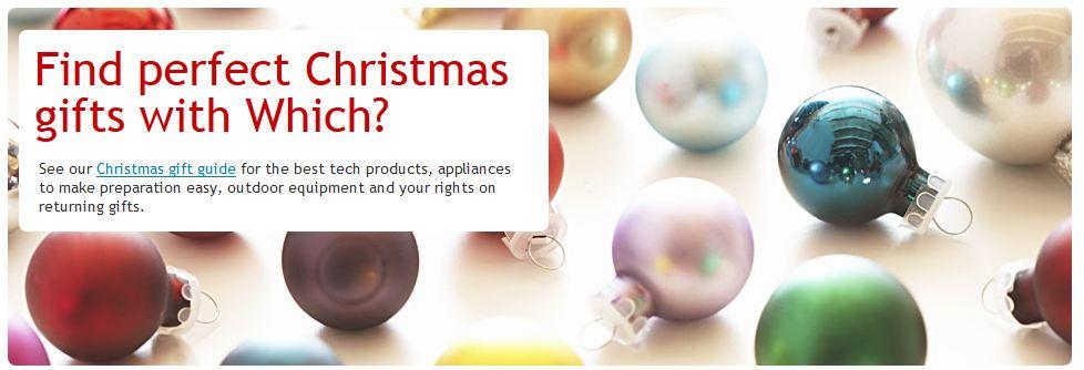 Christmas ornaments header