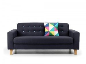 Charlie 3 Seater Sofa Blue