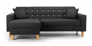 Charlie Corner Sofa Contrast Grey