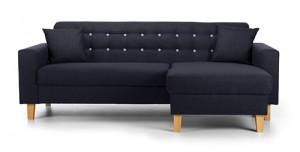 Charlie Corner Sofa Blue