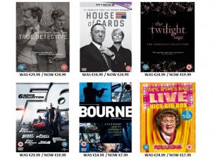 DVD Boxset Sale Euro