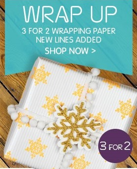 Paperchase 3 for 2 Wrap