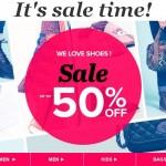 Sarenza Winter Shoe Sale