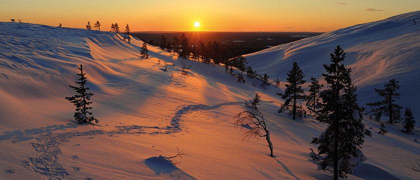 Sunset in Yllas