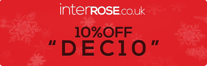 10% OFF interROSE.co.uk