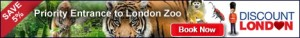 Save 5% London Zoo Tickets