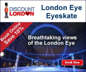Save 10% London Eye Eyeskate