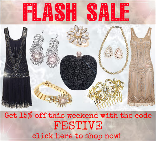Flash Sale 15% Off
