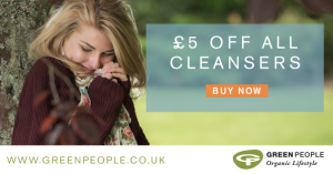 £5 off cleansers