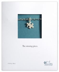 CBS03JZ Silver  Jigsaw Piece Bracelet (840x1024)