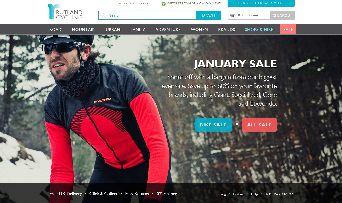 Rutland Cycling New Home Page