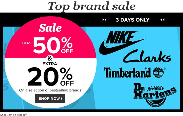 Top brand sale