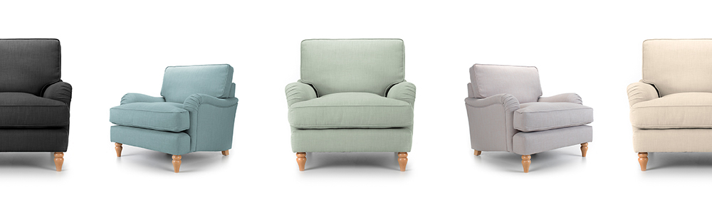 Spring coloured armchairs