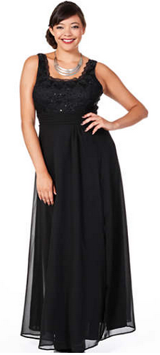 Curvissa Evening Dress
