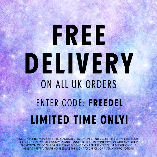 free delivery standard only