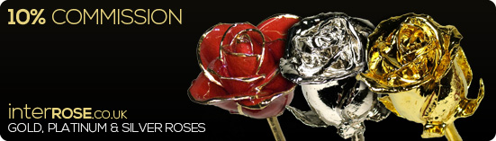 10% Commission on all Gold, Silver & Platinum Roses