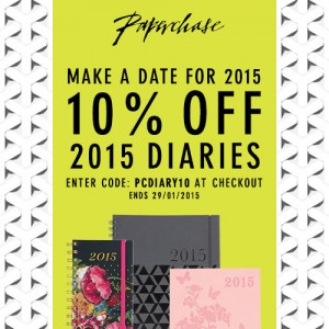 Paperchase Diaries 10% Off