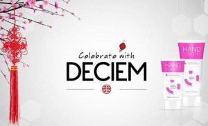 Celebrate with DECIEM, the abnormal beauty company