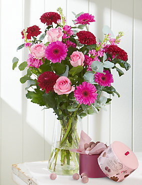 Mother's Day Large Bouquet with Free Chocolates - LIMITED TIME ONLY