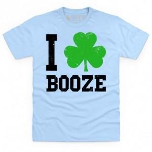 I Love Booze T Shirt