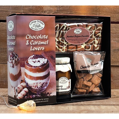 Chocolate & Caramel Lovers Gift Set