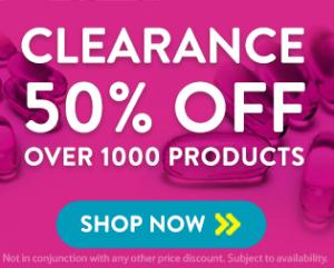 50% Clearance