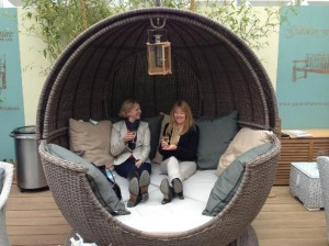 The Apple day bed from The Garden Furniture Centre