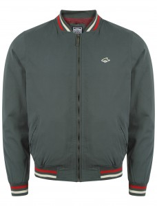 Mens Le Shark akaroa jacket green