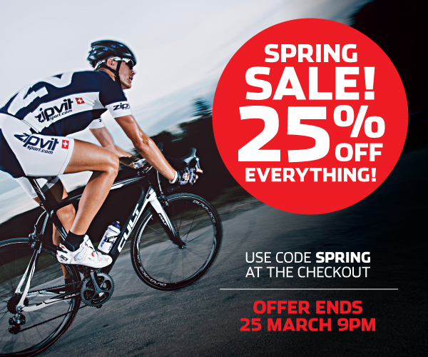 spring sale 25 percent off
