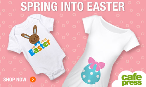 Spring Into Easter at CafePress