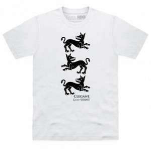 Official Game of Thrones - House Clegane Sigil Organic T Shirt