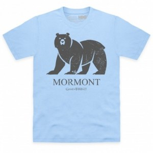 Official Game of Thrones - House Mormont Organic Organic T Shirt