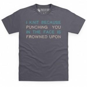 I Like To Knit T Shirt
