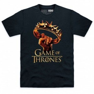 Official Game of Thrones - Crown Organic Organic T Shirt
