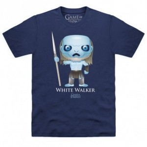 Official Game of Thrones - Funko POP White Walker Organic T Shirt