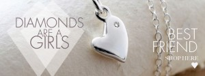 Diamonds are a Heart Necklace Facebook Header 851x315px