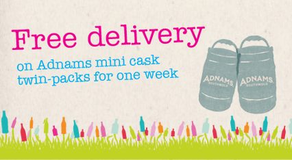 Free Delivery Mini cask April 15