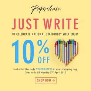 Paperchase 10% Off