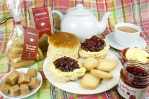 Win an authentic Devonshire afternoon tea hamper from Delimann!