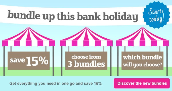 Bank Holiday Weekend Bundles