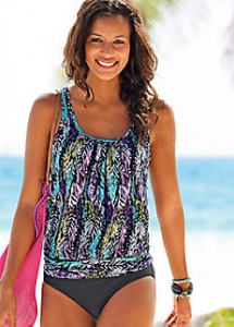 Oversized-Printed-Underwired-Tankini-by-LASCANA-226805FRSP