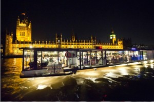 Bateaux London dinner cruise