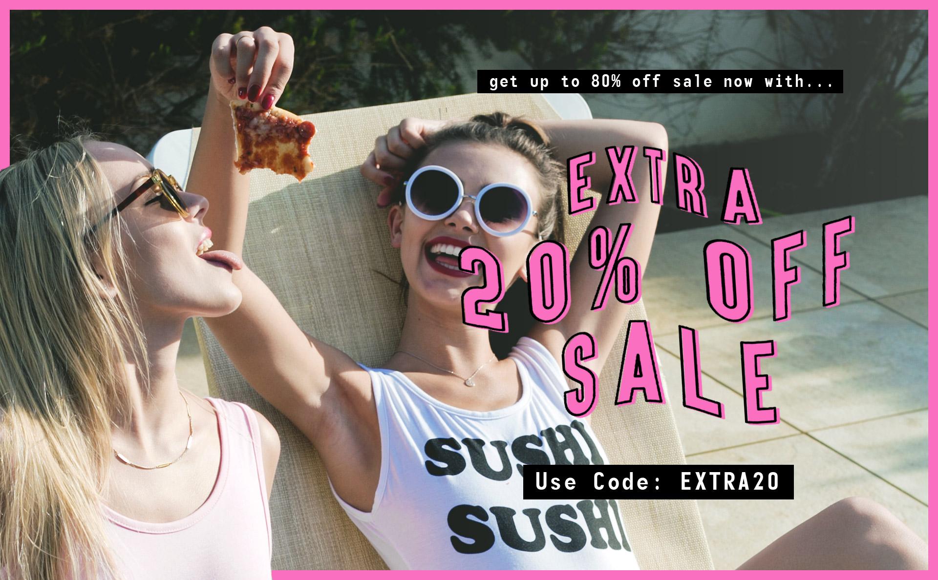 Public Desire Extra 20% Off