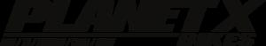 Planet X Logo  Black
