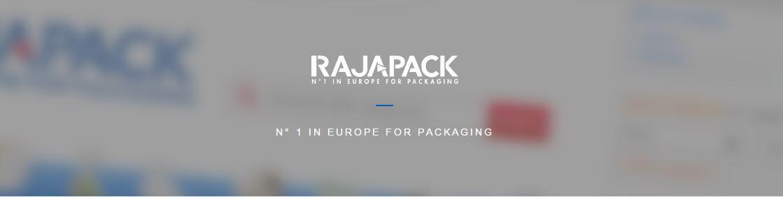 Rajapack newsletter banner