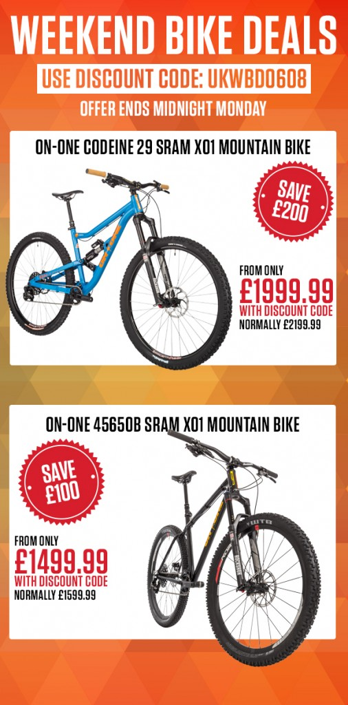 Weekend Bike Deals