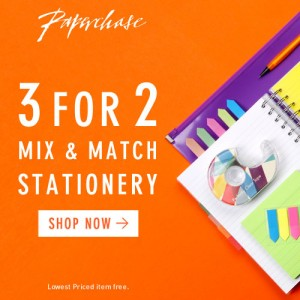 Paperchase 3for2 Stationery