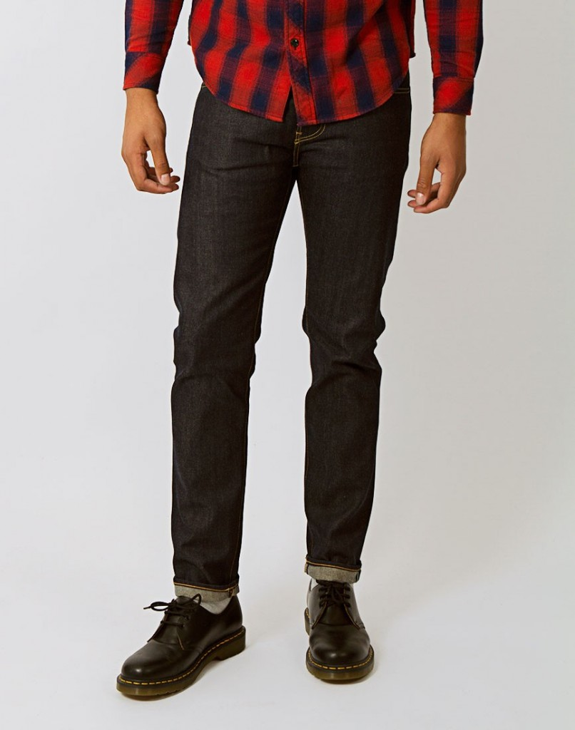 EDWIN ED-80 SLIM TAPERED JEAN NAVY